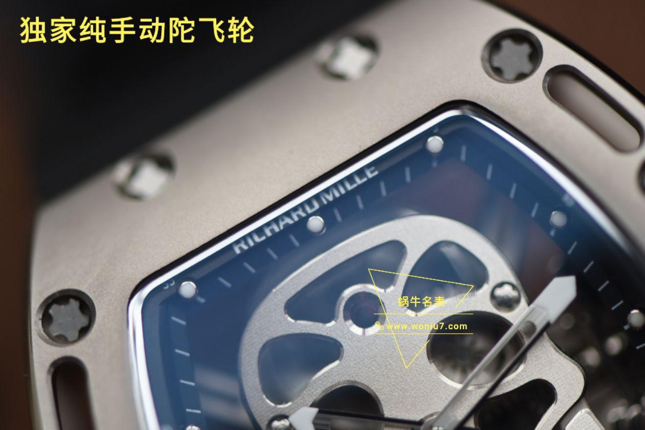 理查德米勒复刻手表【视频评测齿轮会动】顶级复刻理查德米勒手表哪家好 / RM100