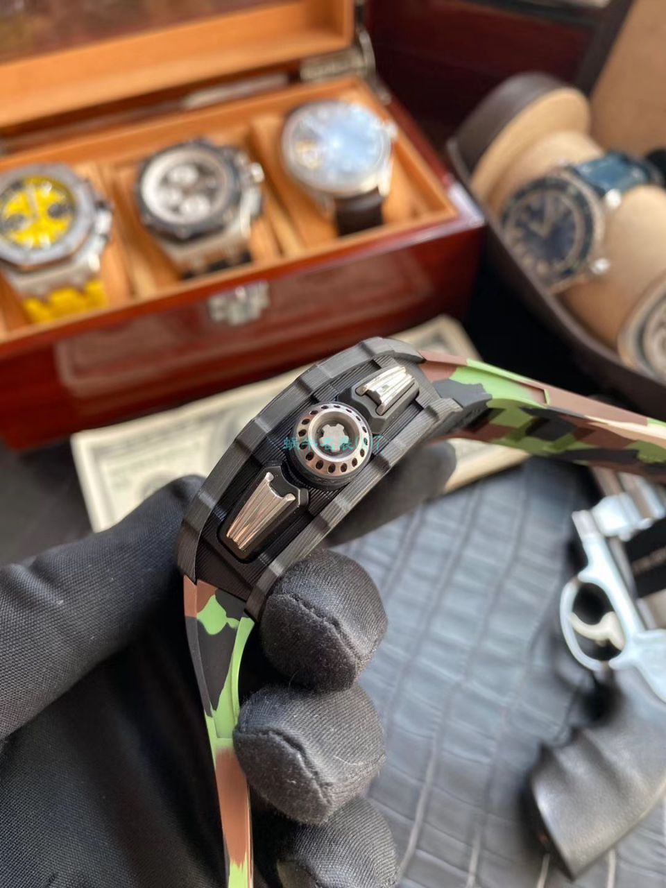 理查德米勒高仿手表【视频评测】超A高仿的最好的理查德米勒手表 / RM101