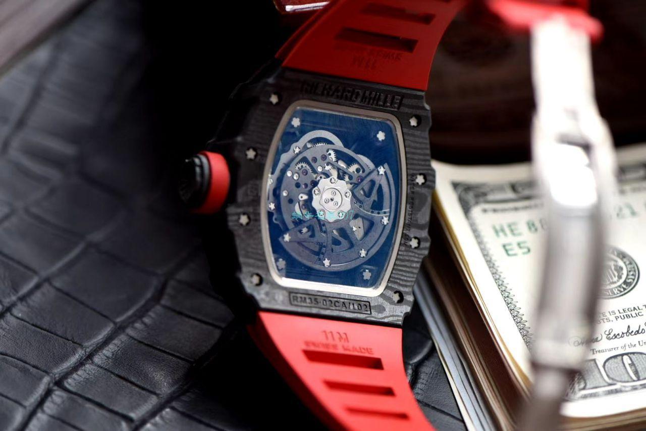 理查德米勒精仿手表怎么样【视频评测】精仿理查德米勒多少钱 / ZF103