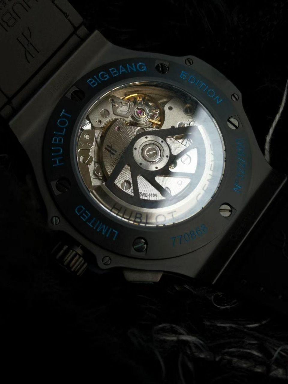 V6厂顶级复刻宇舶大爆炸全陶瓷301.CI.1190.GR.ABG11腕表 / YB082