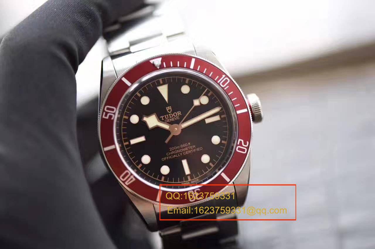 ZF厂超A高仿小红花【视频评测】帝舵碧湾系列79220R小红花不锈钢表带腕表