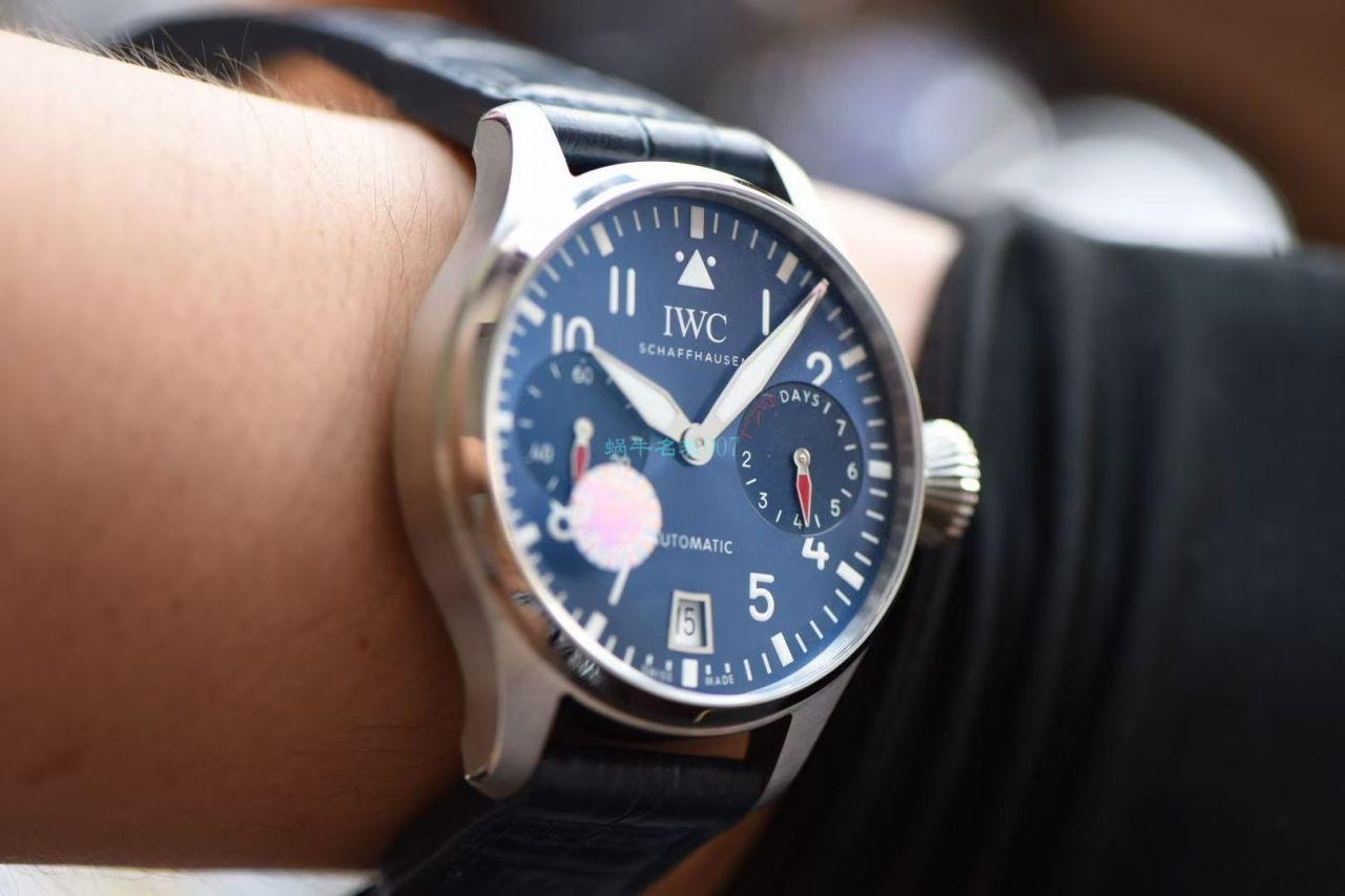 ZF厂超A高仿手表万国飞行员伦敦精品店特别版IW501008腕表 / WG539