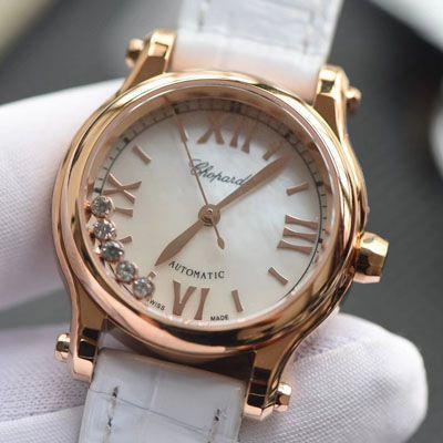 萧邦精仿手表怎么样【视频评测】精仿萧邦女士手表五钻价格报价