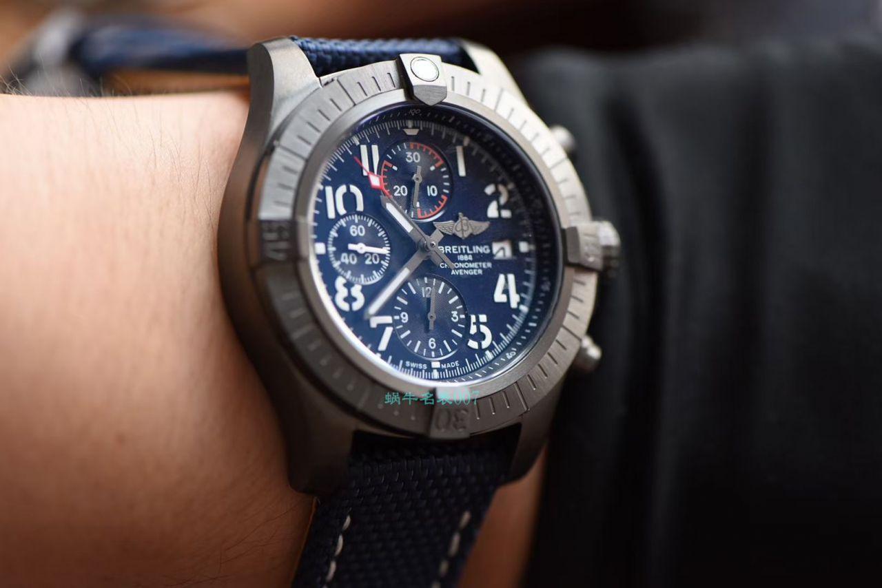 OX厂超A高仿百年灵手表复仇者系列V13317101B1X2腕表 / BL191