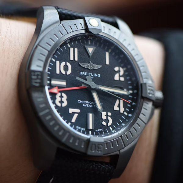 【视频评测】OXF高仿手表百年灵复仇者GMT双时区V32395101B1X1腕表