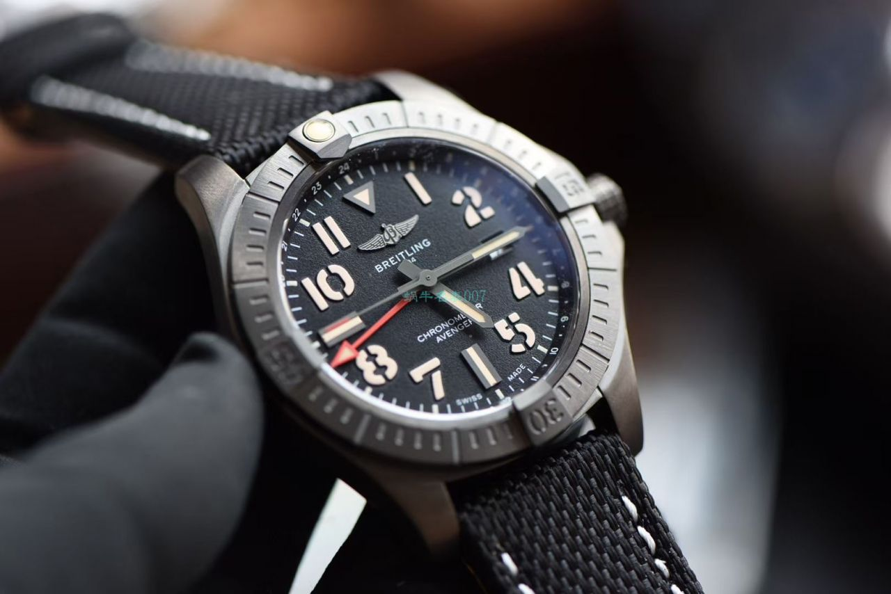 【视频评测】OXF高仿手表百年灵复仇者GMT双时区V32395101B1X1腕表 / BL196