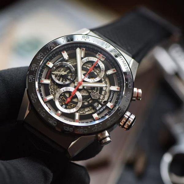 XF厂超A高仿手表泰格豪雅卡莱拉系列CAR201V.FT6046腕表