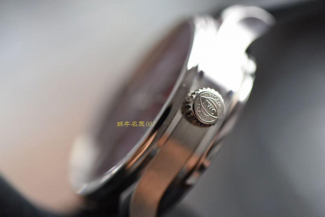 YL厂万国葡萄牙系列IW500714 葡七勃艮第酒红色手表 / WG567