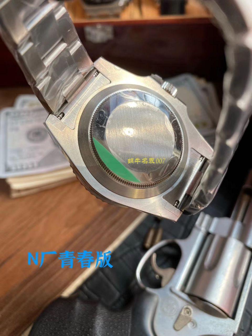 【视频评测】N厂青春版劳力士绿水鬼手表 / R650
