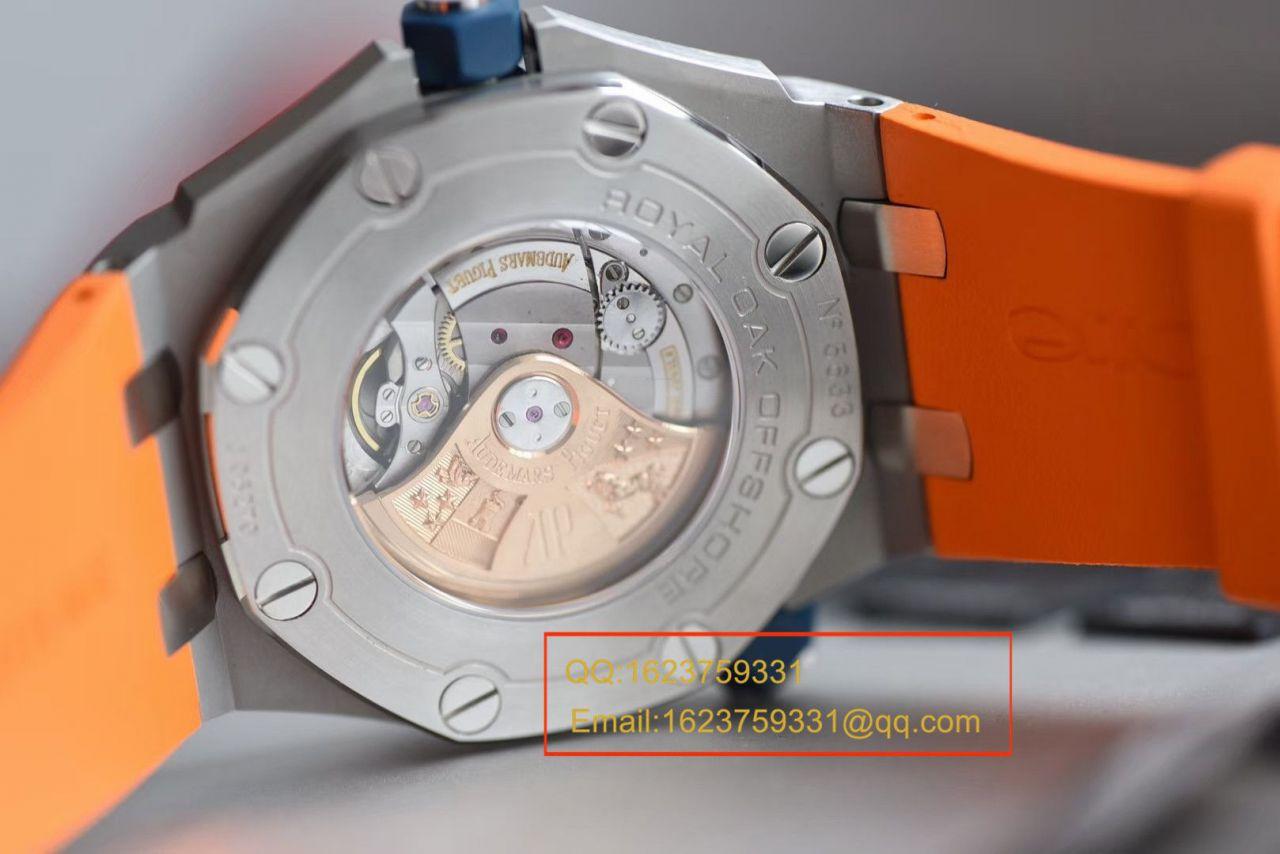 【视频评测】JF厂AP爱彼皇家橡树离岸型系列15710ST.OO.A070CA.01腕表 / AP211JF