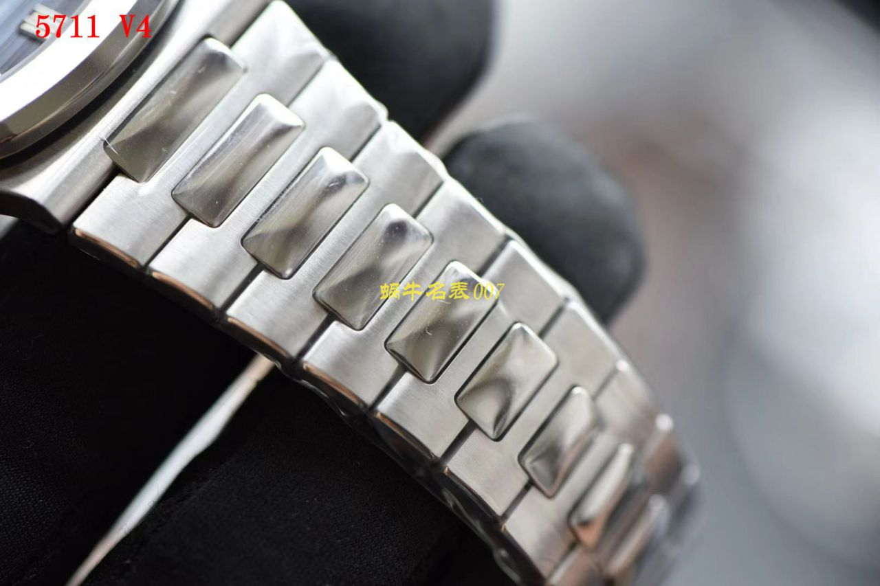 视频评测PPF厂V4版本百达翡丽顶级复刻手表鹦鹉螺5711/1A-010腕表