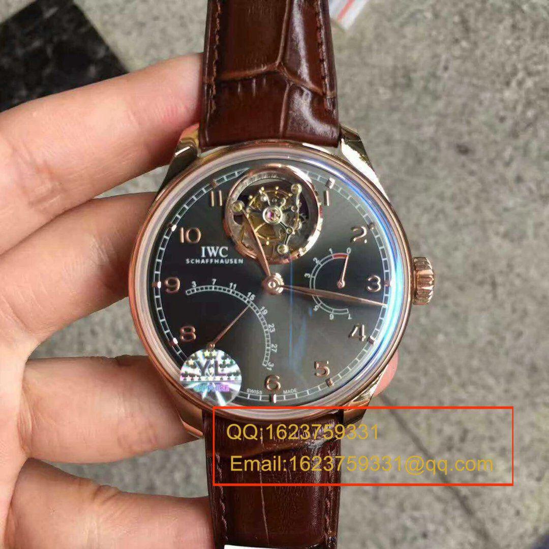 【视频评测】YL厂超A高仿万国陀飞轮手表葡萄牙IW504402腕表 / WG570