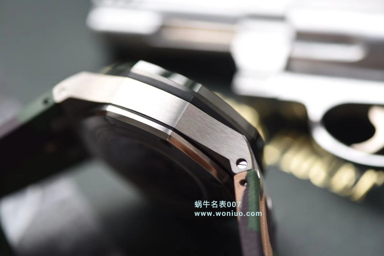 【视频评测】JF厂顶级复刻手表爱彼皇家橡树离岸型26400SO.OO.A054CA.01腕表 / AP213