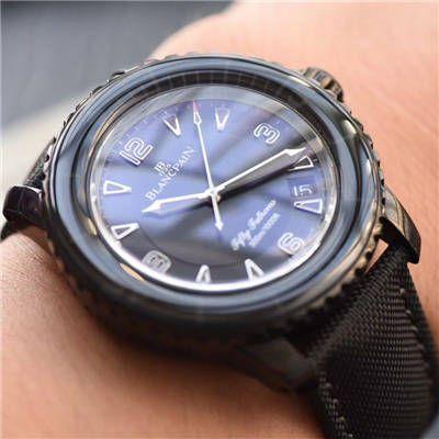 【视频评测】ZF厂宝珀五十噚黑武士高仿手表5015-11C30-52A腕表