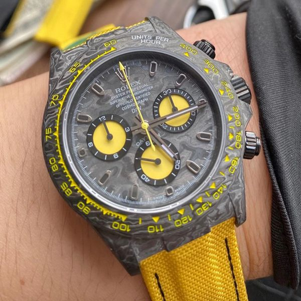 WWF厂ROLEX宇宙计时碳纤维迪通拿系列之Diw团队改造版手表