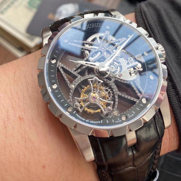 BBR厂最新升级V3+版本罗杰杜彼王者系列圈镂空陀飞轮视频RDDBEX0393腕表