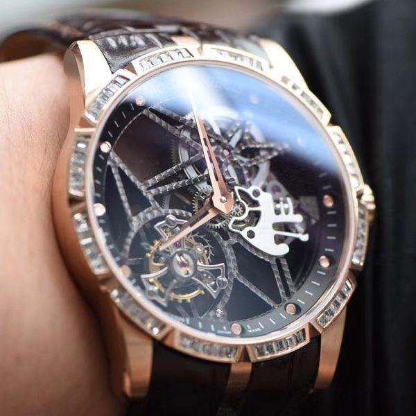 BBR厂V3罗杰杜彼王者系列顶级复刻陀飞轮手表RDDBEX0404腕表