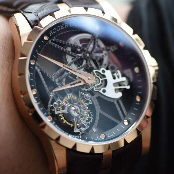 BBR厂最新V3版超A高仿罗杰杜彼全镂空陀飞轮RDDBEX0392手表