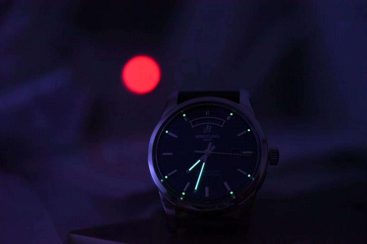 【视频评测】V7厂百年灵越洋系列顶级复刻手表R45310121G1P1腕表 / BL198