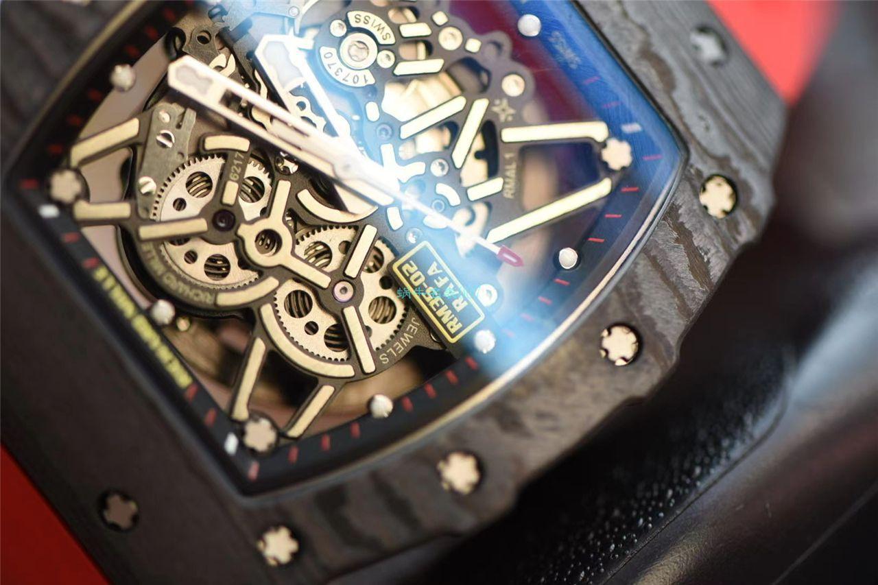 ZF携手国际知名理查德米勒改装厂ABD合作推出极致版本RM35-02手表 / ZF3502ABD