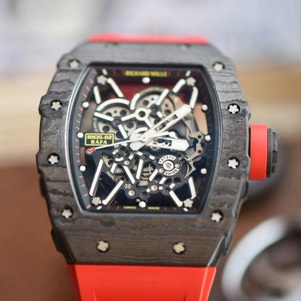 【视频评测】ZF厂理查德米勒Richard Mille V3版本RM35-02超A复刻手表