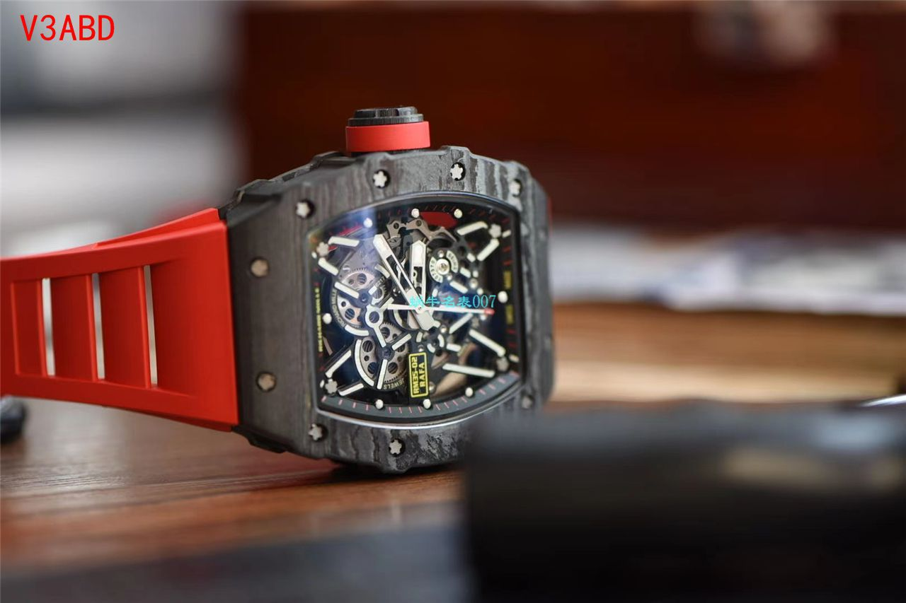 【视频评测】ZF厂理查德米勒Richard Mille V3版本RM35-02超A复刻手表 / ZF3502ABDV3