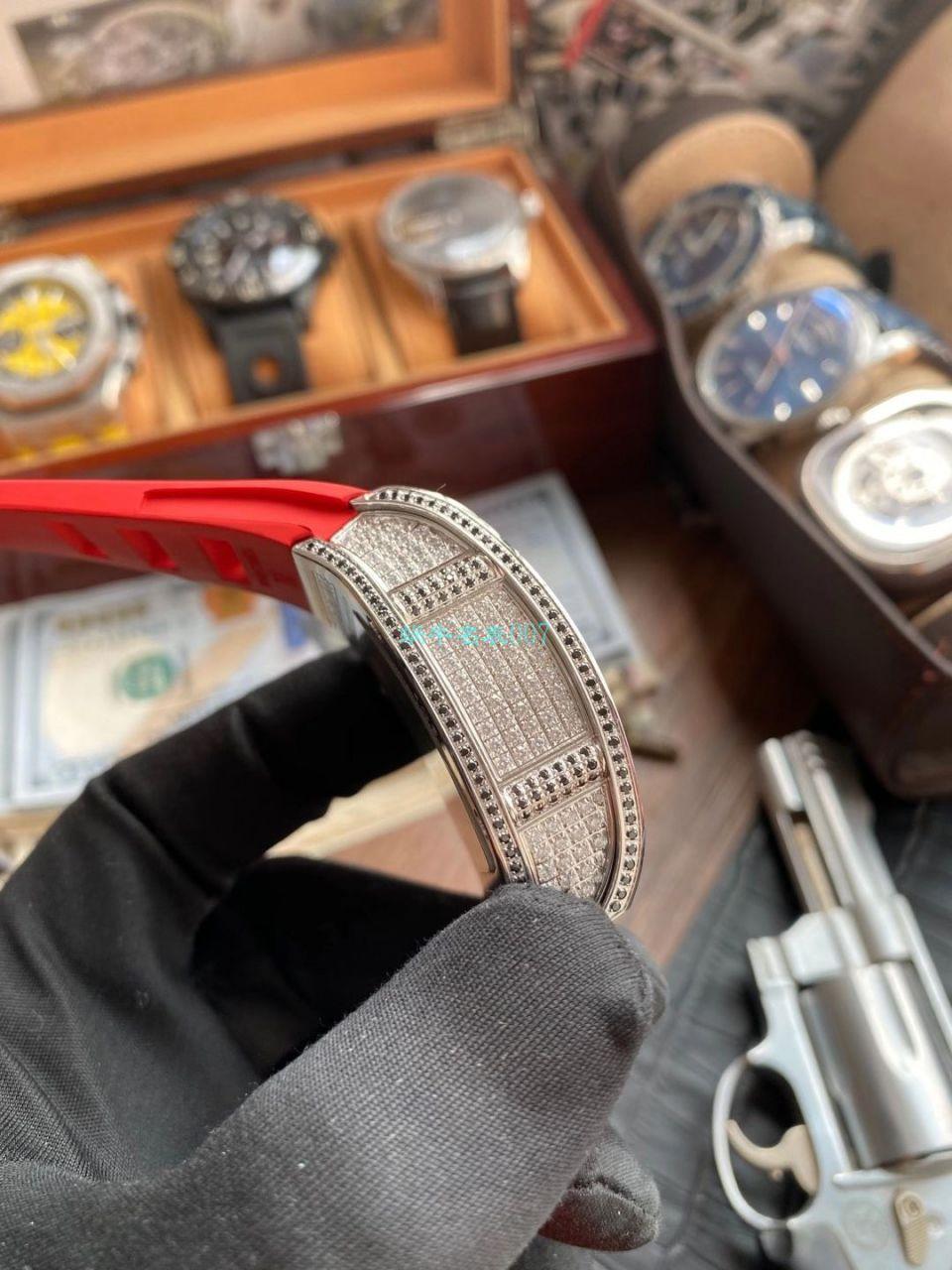 定制款理查德米勒RM 51-01龙虎满钻真超A高仿陀飞轮手表 / RM 51-01