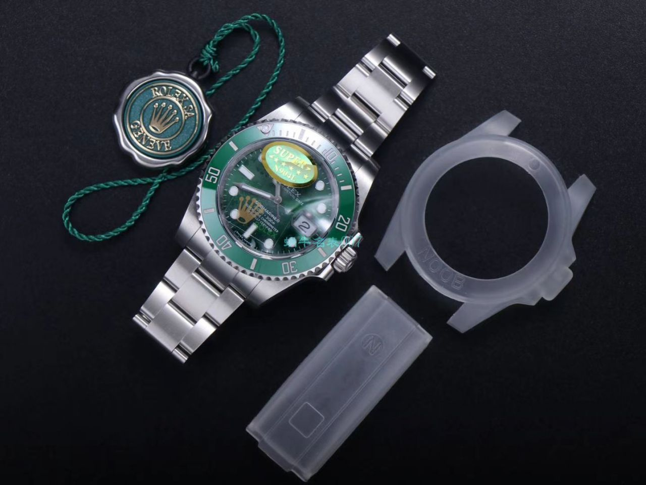 NOOB,N厂 劳力士绿水鬼潜航者V11版本116610LV-97200手表 / R661