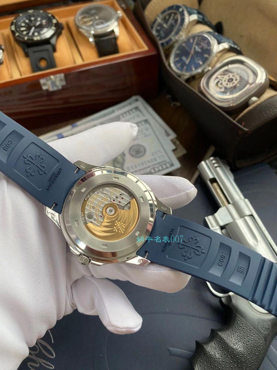 【视频评测】ZF厂百达翡丽AQUANAUT手雷V3版顶级复刻手表5168G-001腕表 / BD333