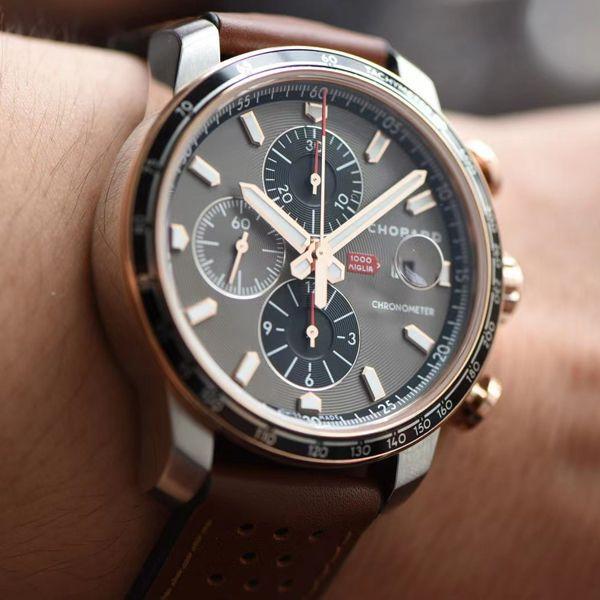 【视频评测】V7厂萧邦Mille Miglia耐力赛168571-6002超A复刻手表