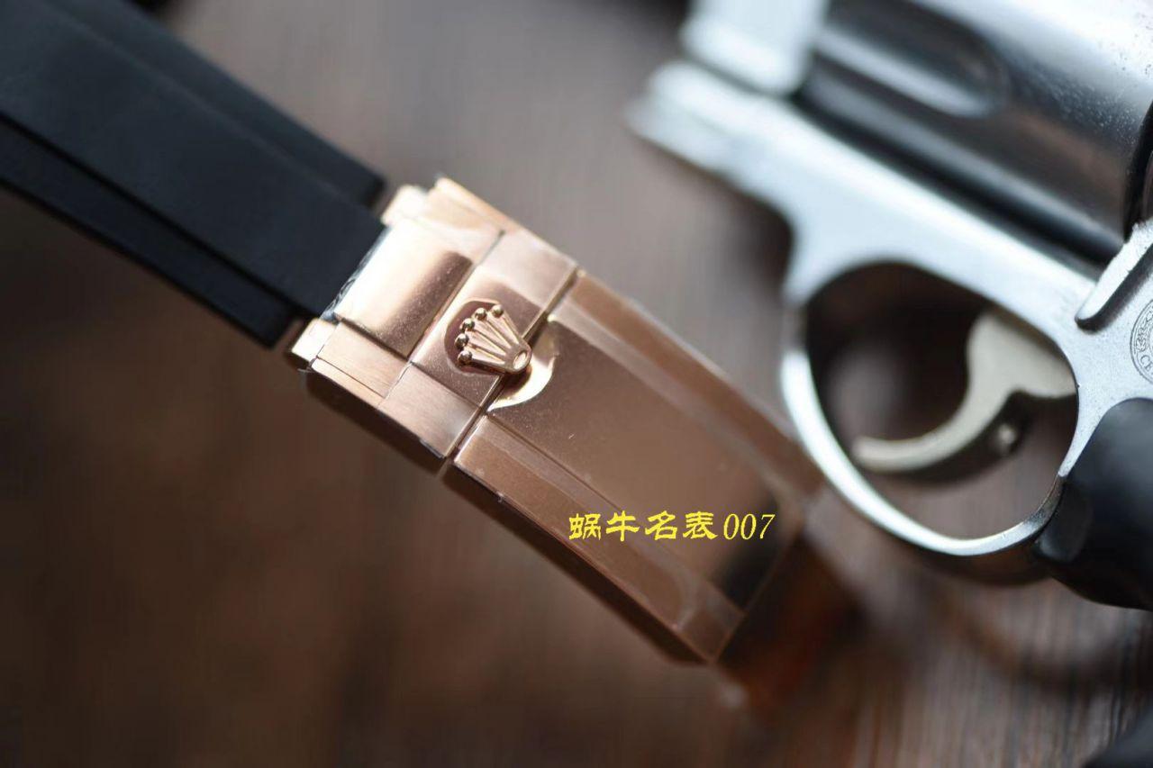 【视频评测】N厂劳力士4130迪通拿咖啡猫m116515ln-0041腕表 / R663