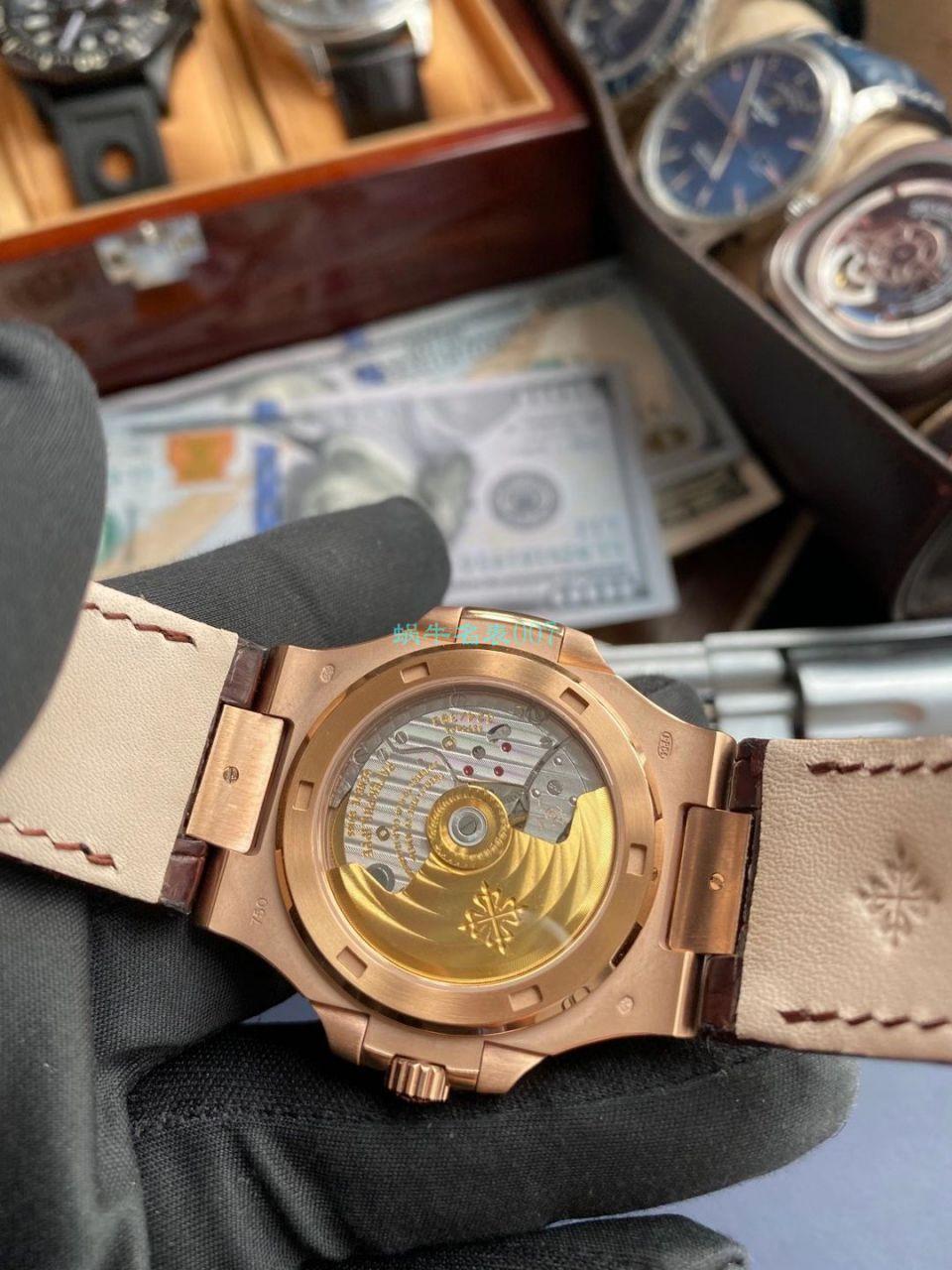 PPF厂百达翡丽鹦鹉螺V4版超A高仿手表5711R 玫瑰金腕表 / BD336