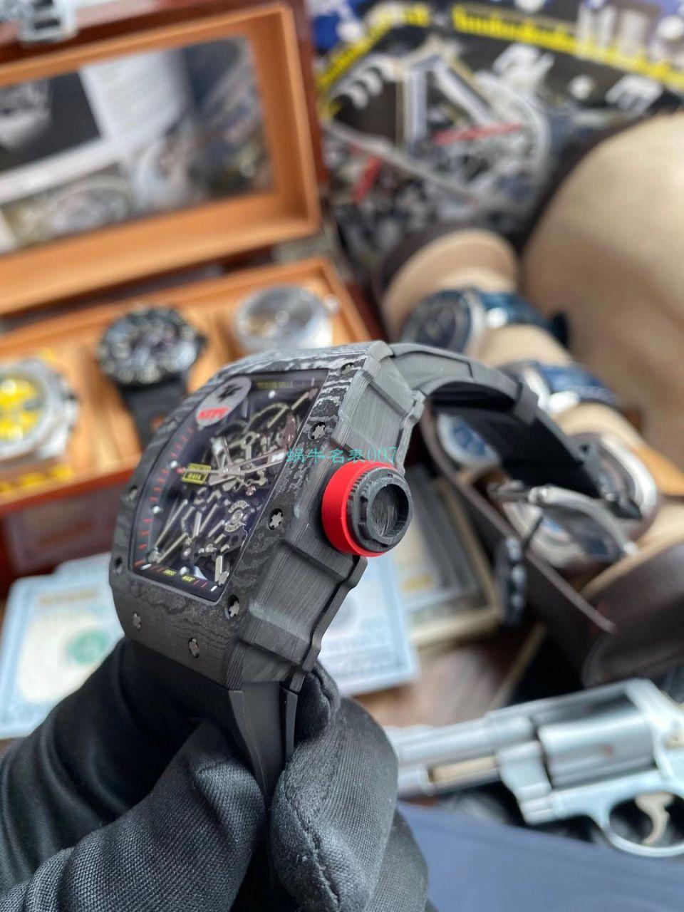 【视频评测】ZF厂1比1复刻理查德米勒Richard Mille V3版本RM 35-02手表 / ZFRM035-02V3