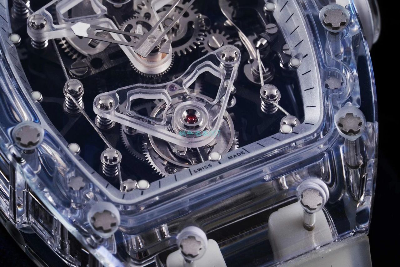 EUR 厂超级雪琉璃理查德米勒RM056,RM 56-02陀飞轮复刻手表 / RM 56-02