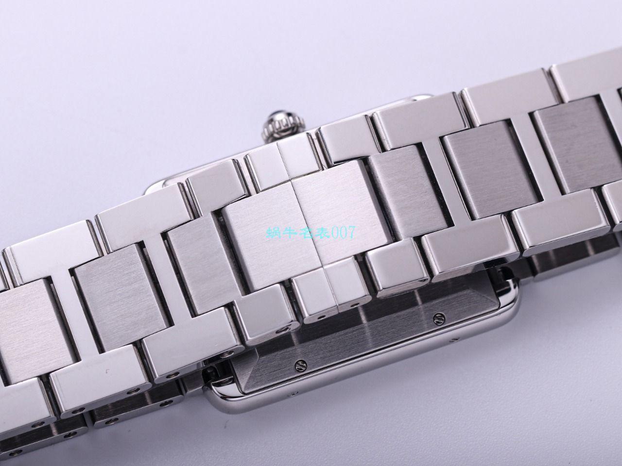 V9厂卡地亚坦克系列顶级精仿手表W5200028(超大号)腕表 / K315