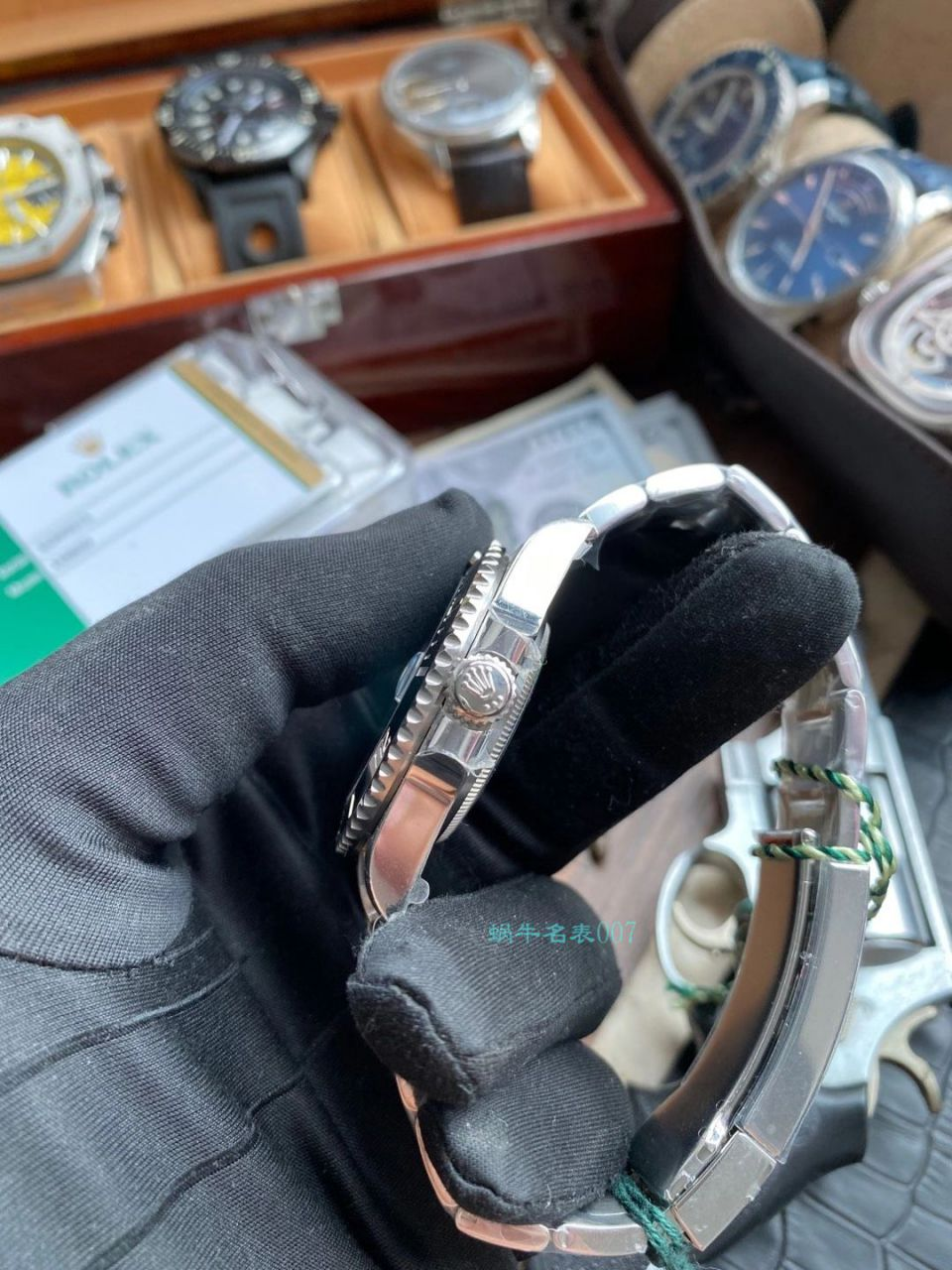 VS厂1比1复刻手表ROLEX劳力士黑水鬼3135机芯116610LN-97200手表 / R669