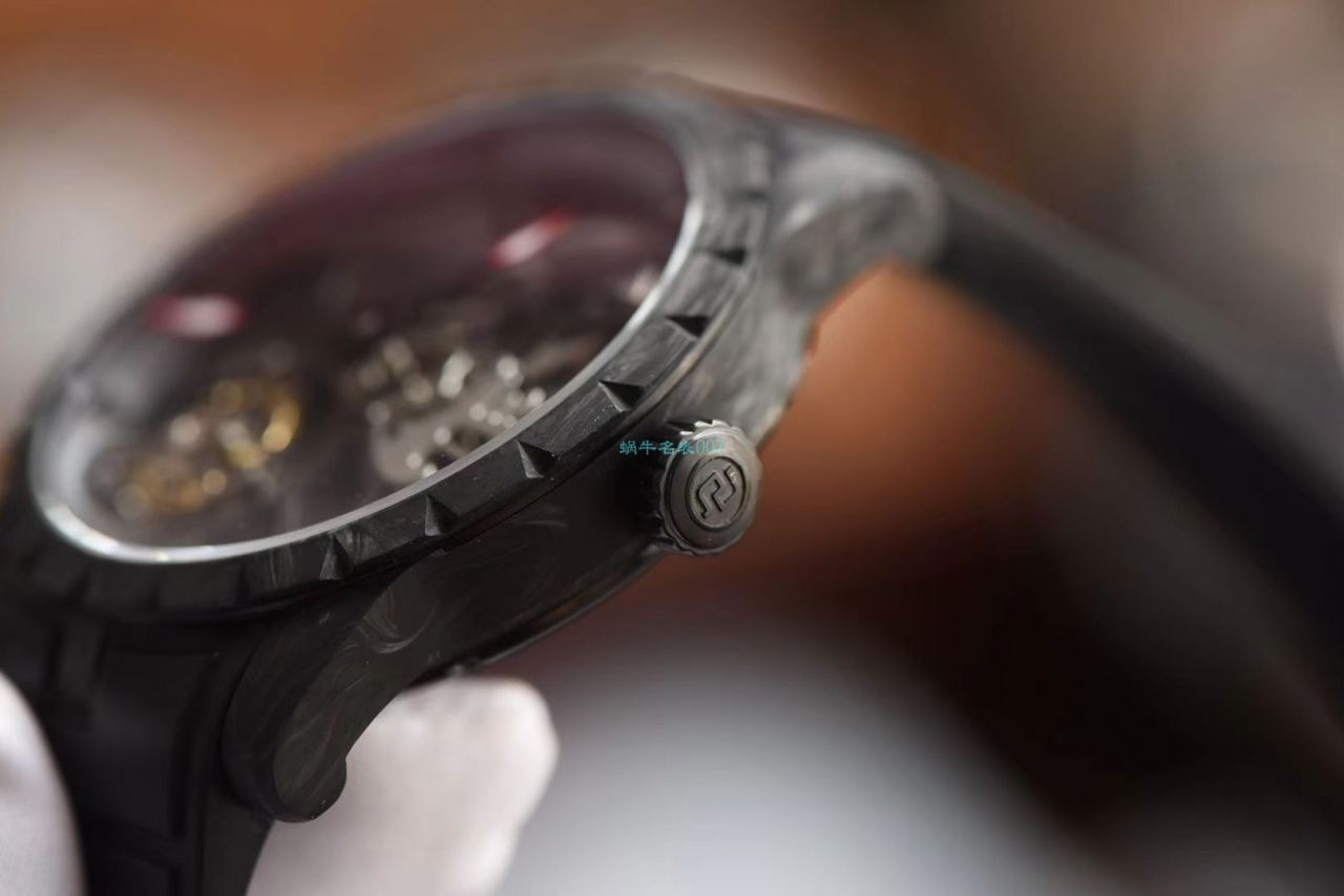 BBR厂最新碳纤维罗杰杜彼王者系列陀飞轮1比1高仿手表DBEX0577腕表 / LJ091