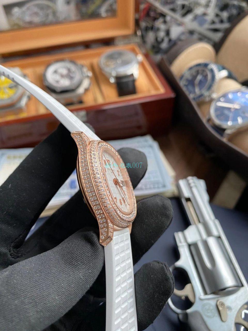 PPF厂百达翡丽AQUANAUT顶级高仿手表5069R-001女款 / BD337