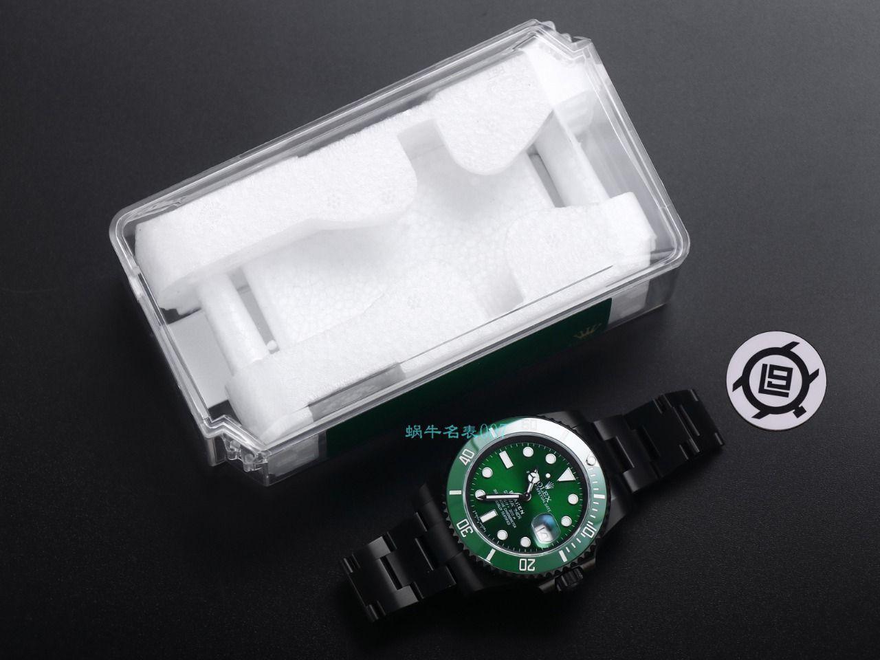 V9厂劳力士水鬼顶级复刻手表BLAKEN  SUBMARINER  DATE LV官方同款曜黑改装版 / R670