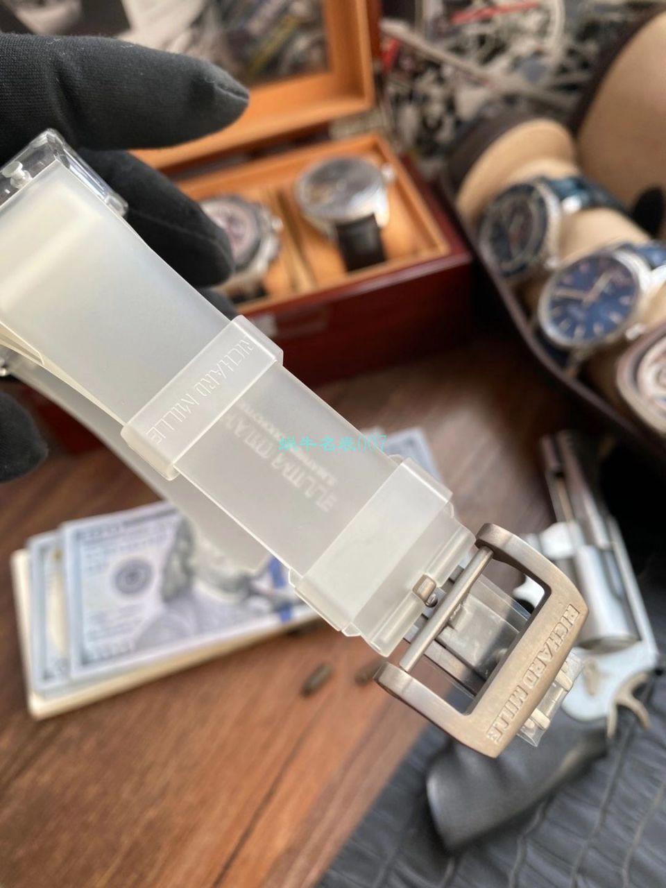 【视频评测】EUR 厂理查德米勒陀飞轮RM056,RM 56-02雪琉璃全透明1比1高仿手表 / RM 56-02EUR