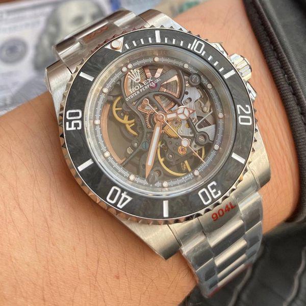【视频评测】WWF厂顶级复刻劳力士全镂空改装潜航者116610手表