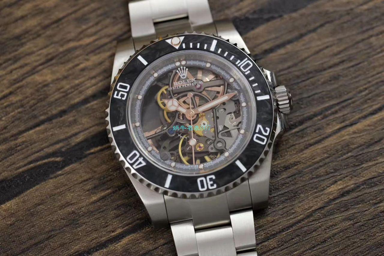 【视频评测】WWF厂顶级复刻劳力士全镂空改装潜航者116610手表 / R671