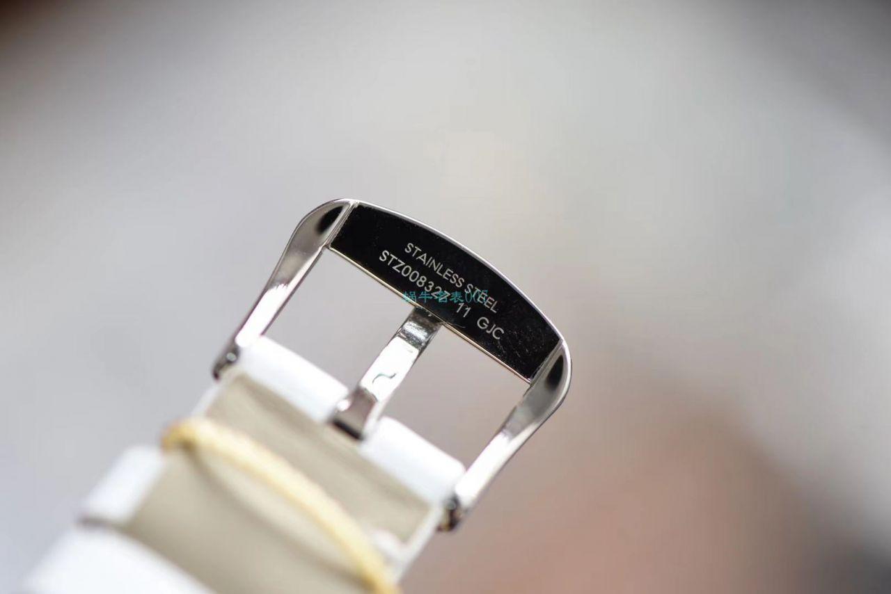 【评测视频】SSS厂欧米茄碟飞系列蝶舞1比1高仿女士手表424.27.33.60.52.001腕表 / VS737