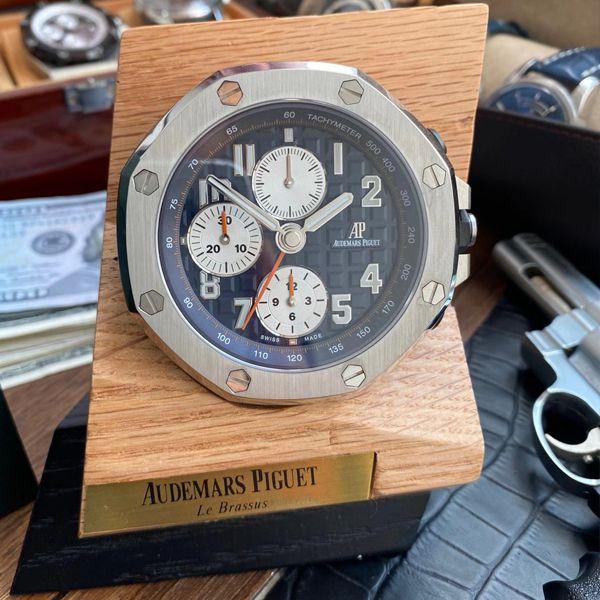 CK厂Audemars Piguet爱彼皇家橡树离岸型26470经典致敬桌钟座钟腕表