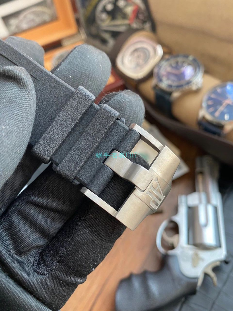【视频评测】JF厂爱彼皇家橡树离岸型柏林勃兰登堡门26415CE.OO.A002CA.01腕表 / AP221