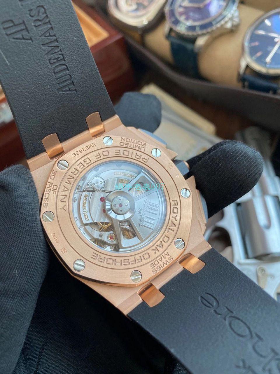 【视频评测】JF厂爱彼皇家橡树离岸型1比1复刻手表26416RO.OO.A002CA.01腕表 / AP220