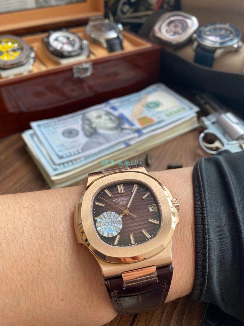 GR厂V2版本1比1超A复刻手表百达翡丽鹦鹉螺5711/1A-011腕表 / BD353