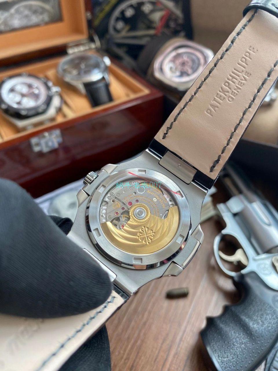 GR厂V2版本1比1顶级复刻手表百达翡丽鹦鹉螺5711/1A-010腕表 / BD352