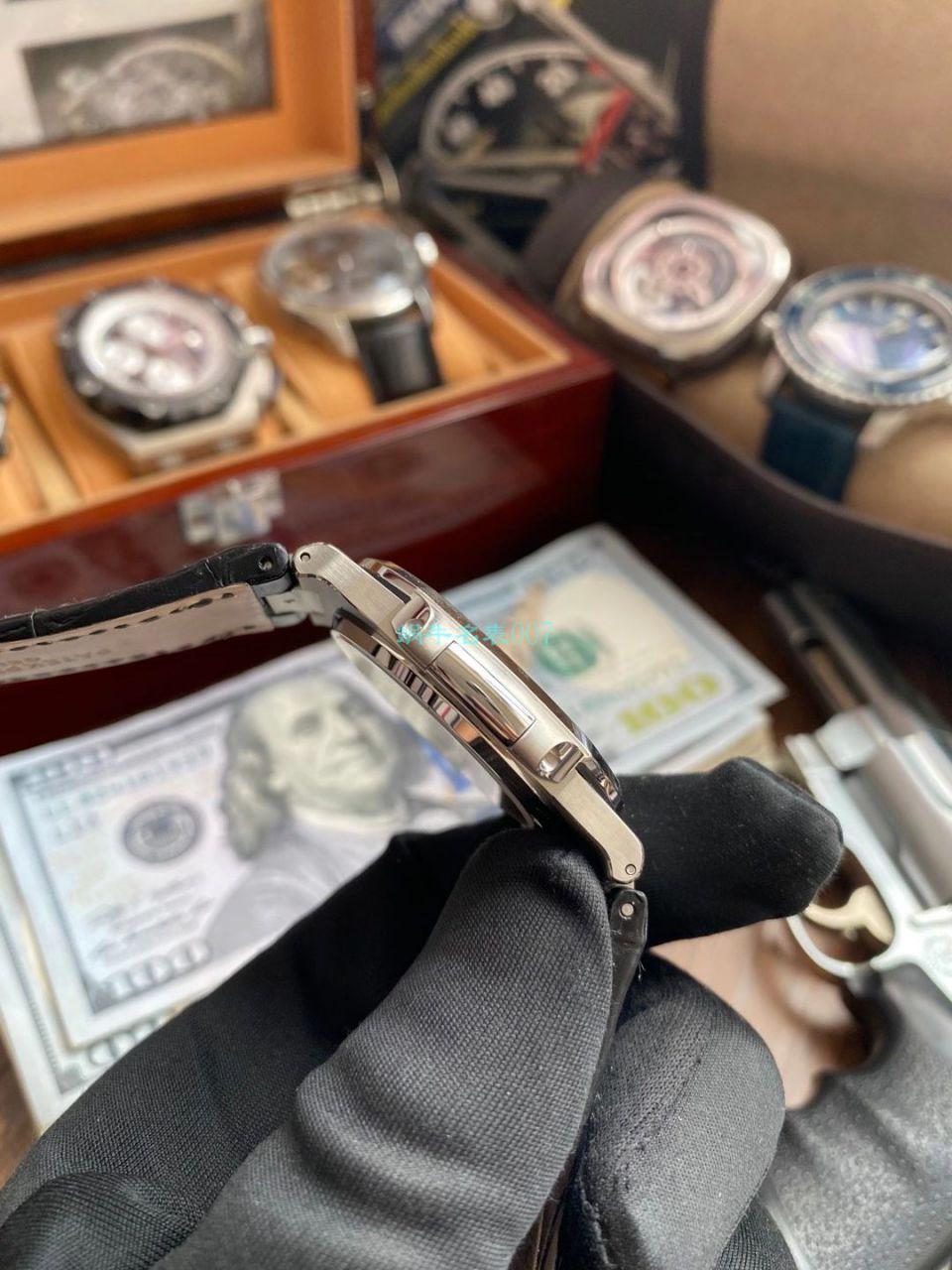 GR厂V2版本1比1超A高仿手表百达翡丽鹦鹉螺5711R 玫瑰金腕表 / BD338
