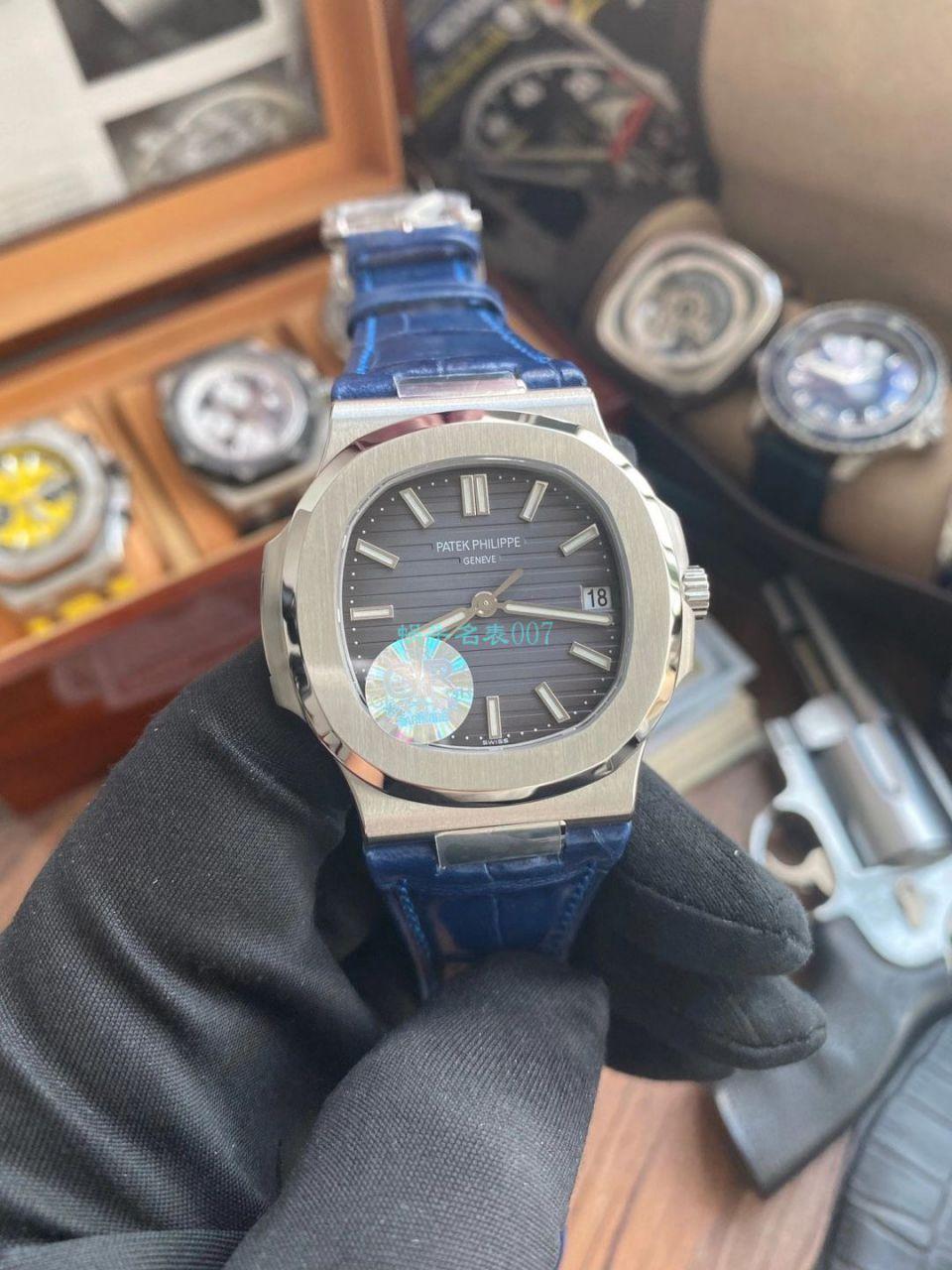 GR厂V2版百达翡丽运动优雅鹦鹉螺超A顶级高仿手表5711/1A 010腕表 / BD350
